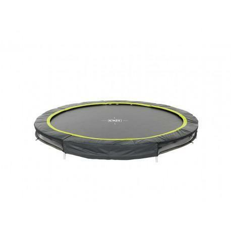EXIT Silhouette Inground Trampoline Ø 244 cm (8ft) zwart