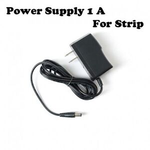 Power Supply AC 100-240V To DC 12V 1A Adapter Plug US For LED St