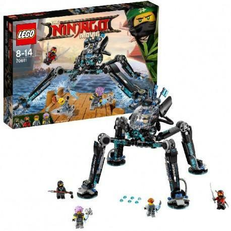 70611 Lego Ninjago Movie Waterstrijder