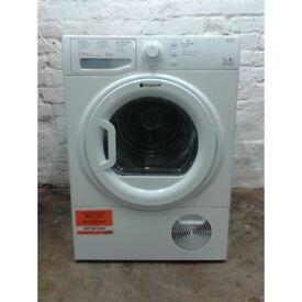 Hotpoint TCFS73 7kg White Sensor Drying Condenser Tumble Dryer 1 YEAR GUARANTEE