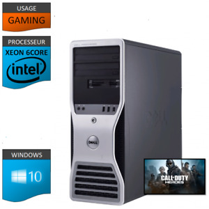 gamer Dell T5500 ( 12 logical cores / 24 Go RAM / Nvidia 2 Go)
