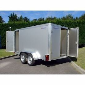 NEW 10x5x6 INDESPENSION BOX TRAILER saving of £360 of r.r.p