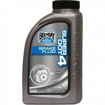 Liquide de frein DOT4 Dot 4 brake fluid 355 ml - BEL-RAY - BELRAY (99480-B355W)