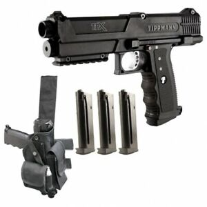 Tippmann TiPX with Long Range Conversion Kit installed