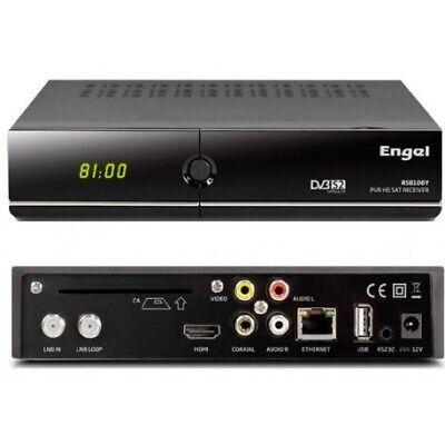 Receptor Satélite Engel RS 8100 Y WIFI Potenciado USB HD