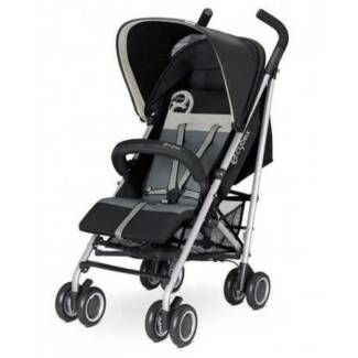 Cybex Onyx Gold Line Pram/Stroller in Oyster*NEW w/tags*RRP $349