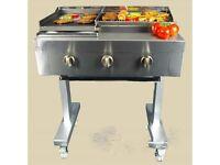 3 Burner BBQ Charcoal Grill EN285