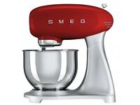 Smeg SMF01 Stand Mixer, Red. Food Mixer. Blender. BETTER THAN KitchenAid RRP £399