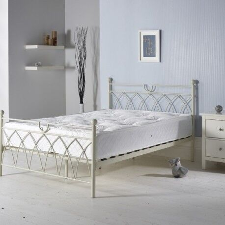 DOUBLE METAL BED WITH SAME DAY DELIVERY RRP £179