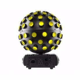 Chauvet DJ Rotosphere Q3 Mirrorball Simulator 5x7W Quad RGBW