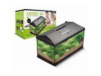 Aquael Leddy 60 Fish Tank (54 l) + Stand + Full Supplies