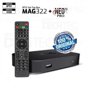 MAG 322W1 $140 2 MONTHS FREE NEW AND ALL INTERNET PLANS IPTV