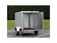 6x4x4 SINGLE WHEEL BOX VAN INDESPENSION BOX TRAILER ANYONE CAN TOW THIS TRAILER NO LICENCE NEEDED