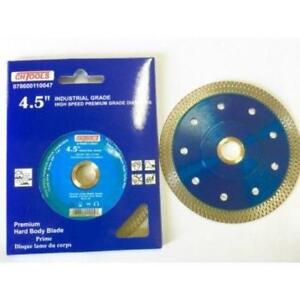 "4-1/4"" Mesh Turbo Diamond Blades industrial Reg$36 Sale 16"