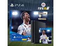 Brand New Boxed Sony PS4 Slim 500GB Fifa 18 Bundle with controller/leads/manuals etc. - SEALED
