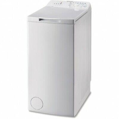 Lavadora Indesit BTW A61052 6KG Blanca 1.000RPM A++, Lavadoras carga superior