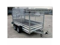 INDESPENSION 12' x 6' GENERAL PURPOSE GOODS TRAILER 2600kg gross meshsides available