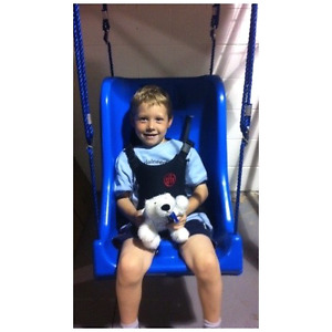 Special Needs Full Support Swing with Portable Foldaway Frame