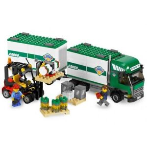 LEGO City 7733 Truck & Forklift, complete