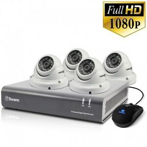 Swann 4 Ch 2.0MP CCTV SECURITY SYSTEM INSTALLED Melbourne CBD Melbourne City Preview