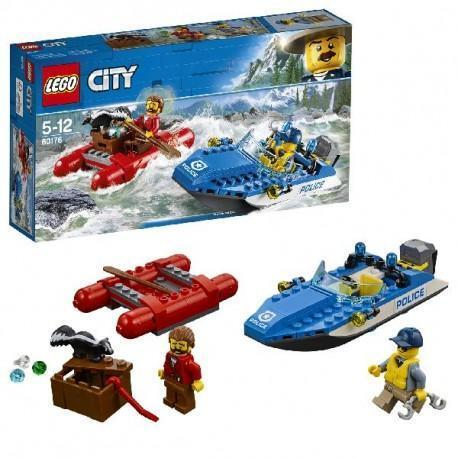 60176 Lego City Wilde Rivier Ontsnapping (lego-city)
