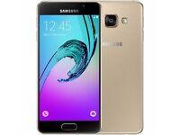 Samsung Galaxy A3 2016 16GB in GOLD - sealed, warranty till 2/2019