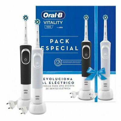 Cepillo Eléctrico OralB D100 Vitality Duo 20 CrossAction