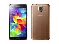 Samsung S5 16GB Unlocked To All Network - £180 - Black Gold - With Receipt