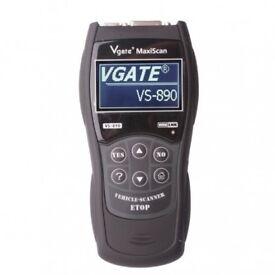 VS890 Car OBD2 OBDII Fault Code Removal Diagnostic Scanner