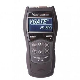 VS890 Car OBD2 OBDII Fault Code Diagnostic Removal Scanner