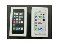 Apple iPhone 5S 16/32unlocked BRAND NEW BOXED accessories &Warranty
