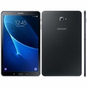"New Open Box Samsung Galaxy Tab A 10.1"" 16GB Black Android Table"