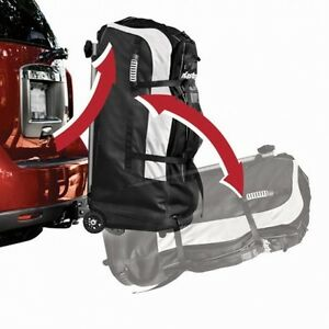 Cargo Wheeled Duffel with Hitch Mounted by Master Lock