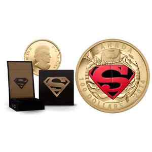Superman 100$ gold coin  West Island Greater Montréal image 1
