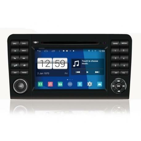 Mercedes ML Android Autoradio navigatie full europa incl. HD