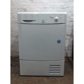 8kg Indesit Condenser tumble dryer