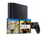 Playstation 4 SLIM 500 GB - Bought in January, in warranty. Perfectly new NO SCRATCHES at all