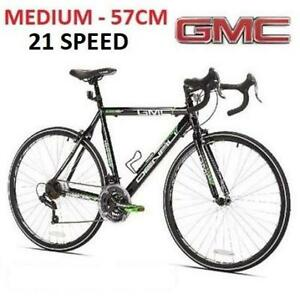 NEW* GMC DENALI ROAD MEN'S BIKE 42722 210823102 MEDIUM SIZE 57CM FRAME BICYCLE 21 SPEED