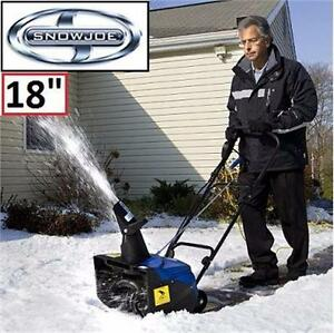 "NEW SNOW JOE 13.5A ELECTRIC SNOW THROWER 18"" SNOW BLOWER  82719169"