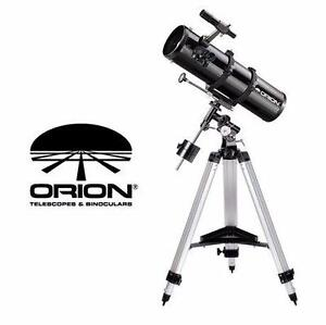 NEW ORION EQUATORIAL TELESCOPE   SpaceProbe 130ST Equatorial Reflector Telescope CAMPING OUTDOOR HOBBIES 93936856