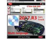 delphiis 2017r3 Car Diagnostic Software support vci obd2 rooven1