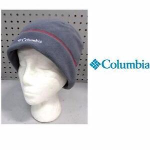 NEW COLUMBIA HAT MEN'S LG/XL   GRAPHITE/RED - FAST TREK HAT  97239663