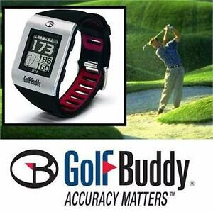 NEW GOLF BUDDY GOLF GPS WATCH SPORTING GOODS ELECTRONICS ACCESSORIES TECHNOLOGY 92234000
