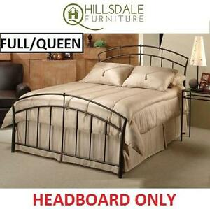NEW HILLSDALE VANCOUVER HEADBOARD - 109414345 - FULL/QUEEN SIZE VANCOUVER COLLECTION HEADBOARD - BROWN