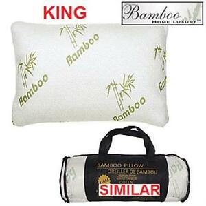 NEW BHL BAMBOO MEMORY FOAM PILLOW KING BAMBOO HOME LUXURY - KING - BEDDING BEDROOM 78334374