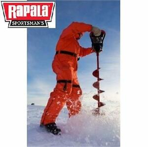 """NEW* RAPALA 33CC VORTEX POWER DRILL ICE AUGER - 8"""" DRILL 33 CC GAS POWERED ICE FISHING AUGERS DRILLS DRILLING  84770798"""