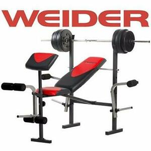 NEW WEIDER FITNESS BENCH PRO 256 Sports Rec Exercise Fitness Benches Home Gyms EQUIPMENT WEIGHTS WEIGHT  84104565