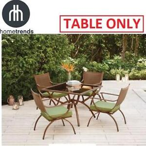 NEW HOMETRENDS DINING PATIO TABLE LG6402-D5PC 187988258 BARCELONA TABLE ONLY FURNITURE