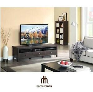 NEW* HT FLAT PANEL TV CONSOLE STAND TV STAND TELEVISION CONSOLE - HOMETRENDS - HOME TRENDS 106332369