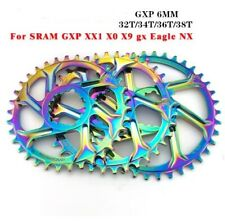 GXP Mountain Bike Chainring 32//34//36//38T for SRAM GXP GX EAGLE XX1 X9 XO X01 Cra